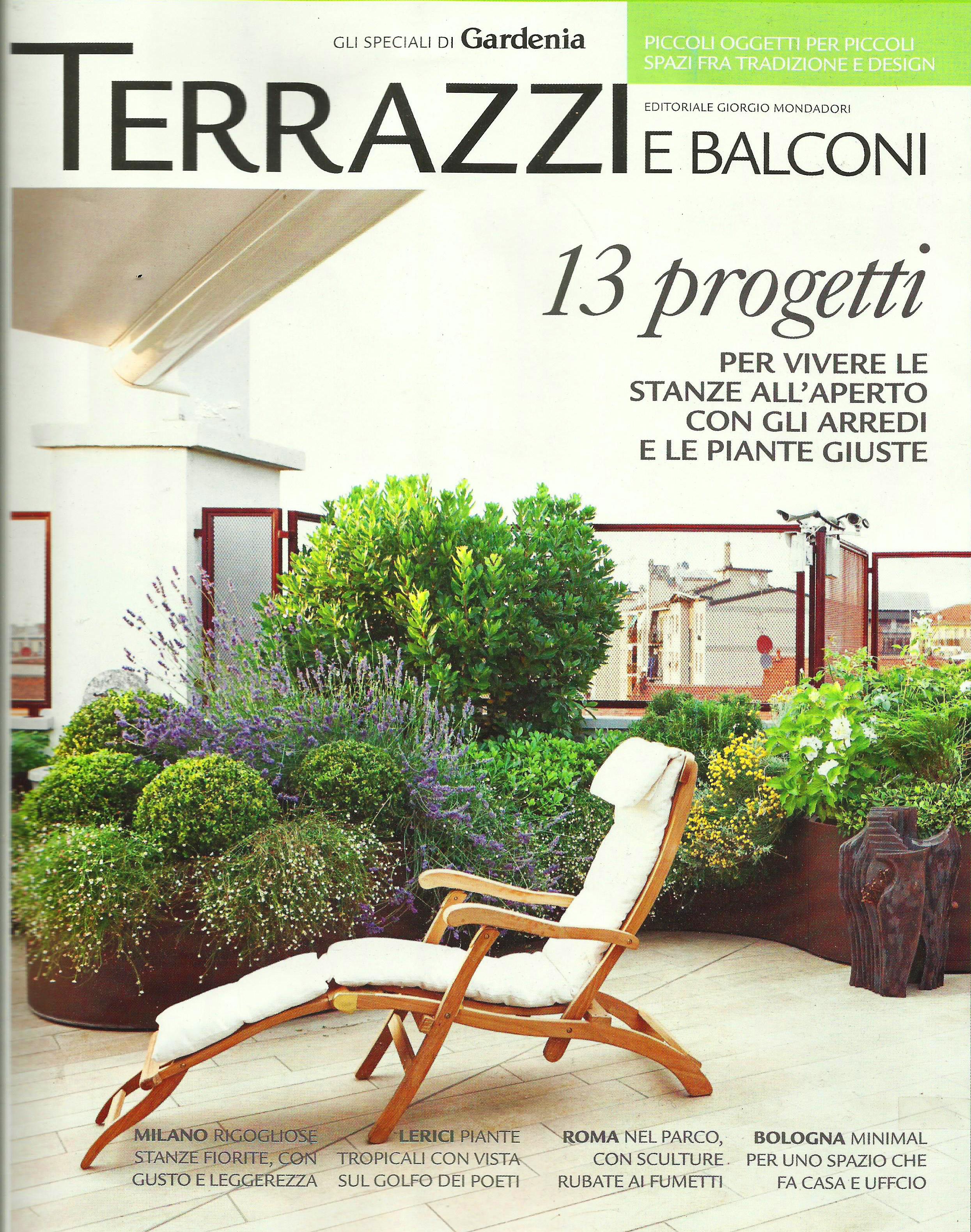 best terrazzi fioriti progetti contemporary idee