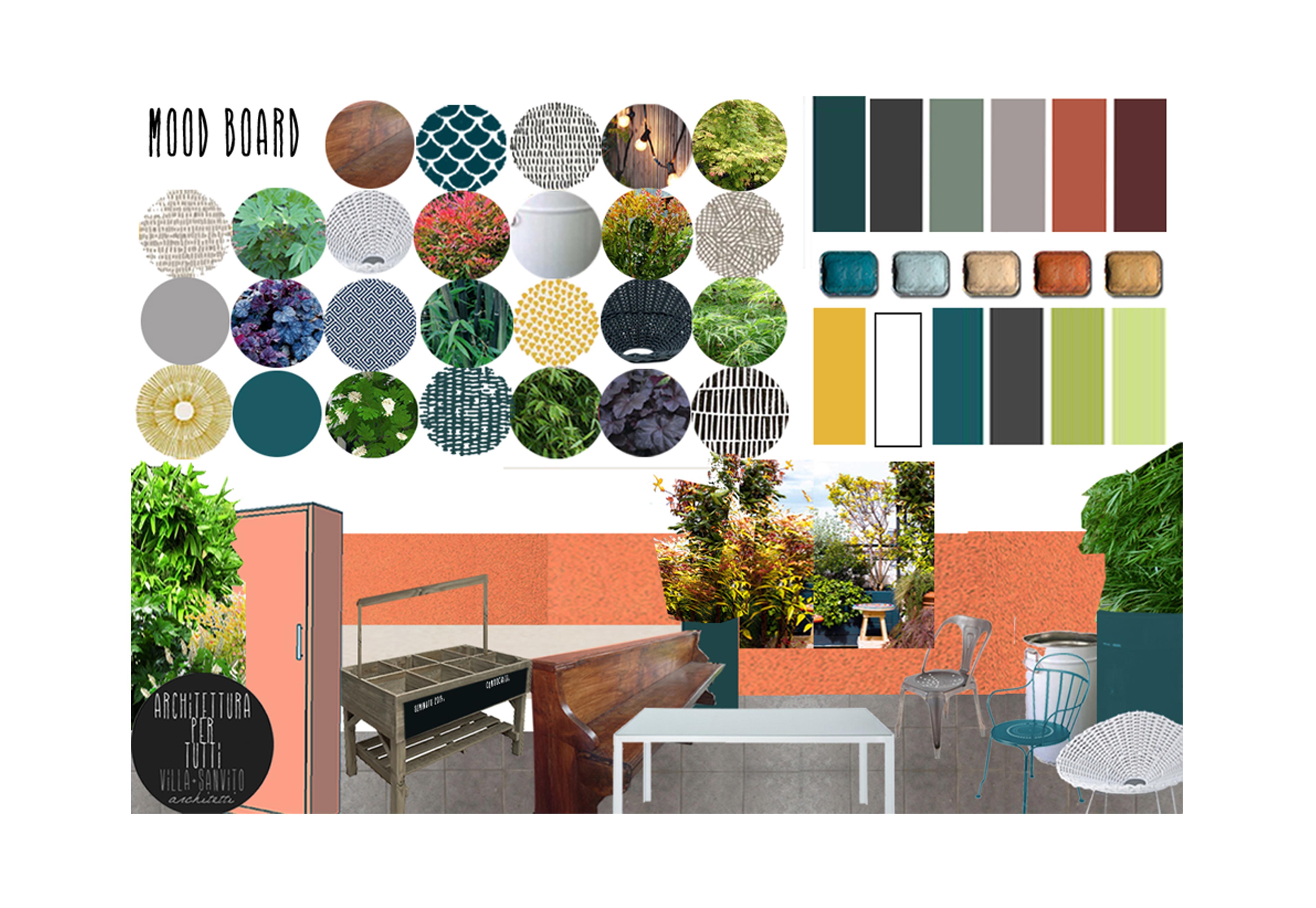 Terrazzo… quasi tropicale – Diletta Villa, architetto