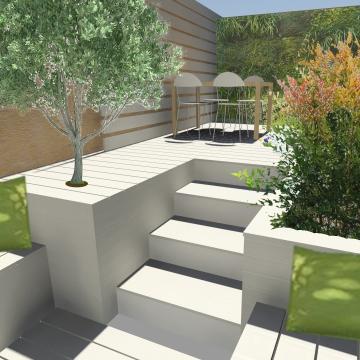 progettazione di terrazzi e giardini milano – Diletta Villa, architetto